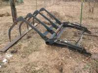 "60"" Dual grapple for loader bucket. $500 cash"