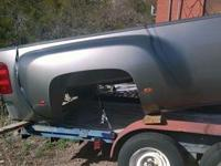 2008 Chevy Dually one ton long bed, had a flat