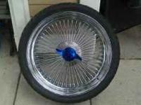 GOT A FRESH SET OF DUBS 5 RIMS WITH TIRES IN GREAT