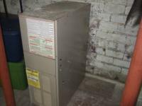 75,000 BTU, 115 volt forced air furnace. free....please