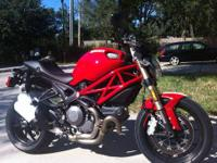 DUCATI MONSTER EVO 1100!!! BOUGHT NEW IN 2012! RUNS