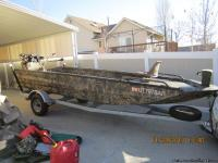 2010 Excel Shallow water 1856 Camo max 4 with 70