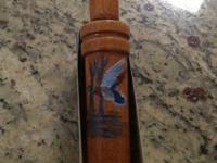 I have a hand painted numbered and signed duck call