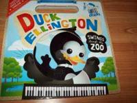 This is a book and audio CD about Duck Ellington who
