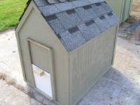 "I build Animal Homes, this is a Duck House. The ""MINI"