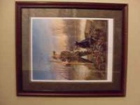 """ We're Ready "" 2002-2003 RJ Mcdonald signed Matted and"