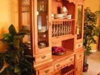 High Quality, Ducks Unlimited Designer China Hutch.