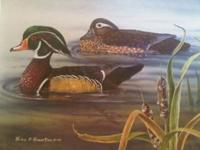 I HAVE ABOUT 13 DUCKS UNLIMITED PRINTS ALL ARE THE SAME