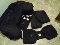 brand new atv rack bag set made by ducks unlimited just