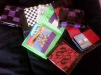 Duct-tape wallets and clutches are hand made. We can