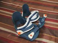 Dukes kids snowboard bindings. Good shape email,text,or