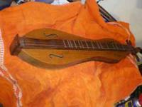 This Dulcimer was hand-made in Blountville, Tennessee