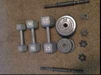 I am selling dumbbells and they are (of course) in
