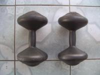 Orbatron Fit for Life dumbbells, each weights 11 lbs.,