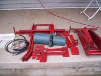 here is a Jet Hoist kit for a pick up truck new never