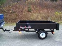 2011 Dump Trailer for on road/off road use, self