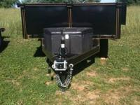 Dump Trailer 6x10' in stock 7K Tandem Axle Back Door