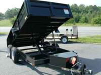 Tandem axle dumpe trailer and eletric brakes for your