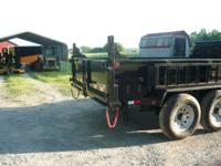 Dump Trailer 7x12 ladder on the side 12K 1 year