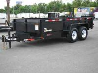 NEW HEAVY DUTY COMMERICAL GRADE DUMP TRAILER HDX SERIES