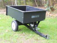 Agri Fab Utility 10 Dump Cart 30x40 Great for Firewood