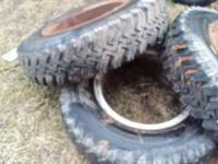 Dump or grain truck virgin tires for sale. Like brand
