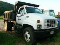 1997 GMC 6500 Dump Truck- 6sp trans, 1yr reconditioned