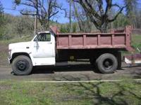 88 GMC, 8 yard, atuomatic, Dump Truck, and Heavy Duty