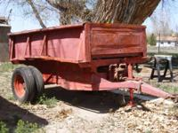 I AM SELLING A 4x8 DUMP BED TRAILER IT HAS THE PTO