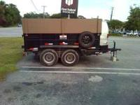 Dump trailer in excellent shape. No issues, no rust,