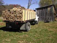 BIG DUMPTRUCK LOAD OF FIREWOOD, ALL HARDWOOD CUT TO