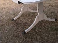 Gorgeous drop leaf table by Cradduck, manufactured in