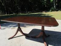 PRICE LOWERED!! Duncan Phyffe dining table with 3