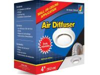 Dundas Jafine air diffusers are ideal for in-wall or