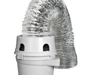 The Dundas Jafine ProFlex indoor dryer vent kit can be