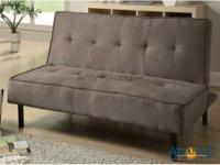 This sofa bed is a pretty and practical piece for your