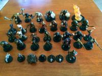 Hello!  I have several Dungeon and Dragons minis that I