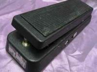 Original Dunlap crybaby wah pedal in perfect working