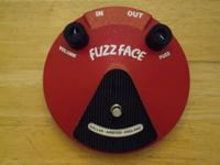 Up for sale is a Dunlop Dallas Arbiter Fuzz Face with