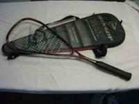 This is a Dunlop Max Longbow 140G Raquet Ball