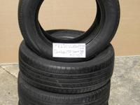 SET OF 4 USED TIRE Dunlop Sp Sport 2156016  	FOR MORE