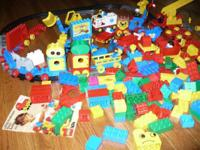 This entire LOT of Duplo toys is being sold as a LOT.