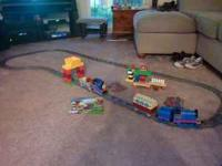 Gently used Duplo lego train sets with Thomas and