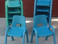 Durable Kids Chairs 14 in high $10.00 Each To see Call