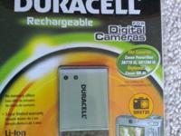 NEW - DURACELL DR9720 Rechargeable Digital Camera