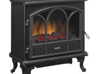 The Duraflame Electric Stove adds charm, ambiance and