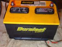 12 Duralast Gold Battery came off f250 7.3 Turbo diesel