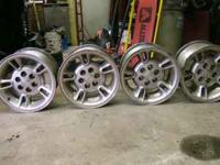 "These are 15x8"" Dakota Wheels in very good condition.6"