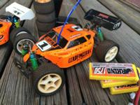 I have for sale 2 duratrax vendetta RC 1/18 scale race