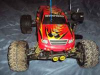 This is a Duratrax Warhead gas powered RC that maybe